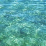 Textur av yttersida för lugna hav för turkos royaltyfri bild