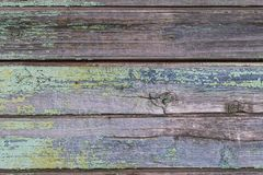 Textur bakgrund, gamla trähorisontalbräden arkivbilder