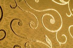 Textur bakgrund, modell Damast tyg med skinande modeller Royaltyfri Fotografi