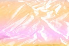 Textur bakgrund, modell Guling för siden- tyg, rosa backgroun Royaltyfri Foto