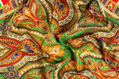 Textur bakgrund, modell Kvinnas sjalett, sjal Ljust c Arkivbild