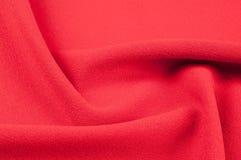 Textur bakgrund, modell Röd torkduk abstrakt bakgrundsred Royaltyfria Foton