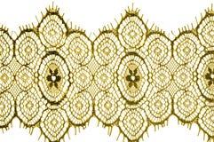 Textur bakgrund, modell tyg snör åt Guld- brunt Tagandecl Fotografering för Bildbyråer