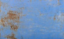 textur Belägga med metall rost Fotografering för Bildbyråer
