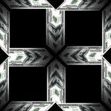 textur 3D av dollar Arkivfoto