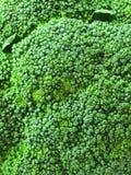 Textur del bróculi, cierre para arriba Foto de archivo libre de regalías