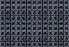 Textur - elektroniskt spionage för ` i nätverks`en eller ` håller ögonen på vi dig `, Textur som komponeras av kameror av mobila  royaltyfri foto