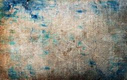 Textur- eller bakgrundsväggen av sjaskig målarfärg och murbruk knäcker Royaltyfri Fotografi