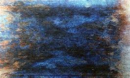 Textur- eller bakgrundsväggen av sjaskig målarfärg och murbruk knäcker Arkivfoton