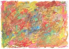 Textur för Ð-¡ olor av borsteslaglängder med trasiga kanter Arkivbild