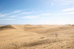 Textur för öken för sanddyn arkivbild