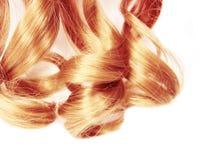 Textur för abstrakt begrepp för stil för mode för hårbakgrund lockig blond Royaltyfri Bild