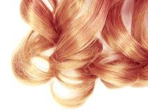 Textur för abstrakt begrepp för stil för mode för hårbakgrund lockig blond Arkivbild