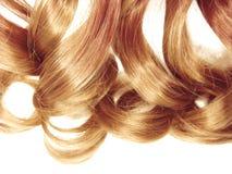 Textur för abstrakt begrepp för stil för mode för hårbakgrund lockig blond Royaltyfria Foton