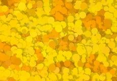 Textur för abstrakt konst Färgrika runda disketter färgrik textur modernt konstverk digitalt framför royaltyfri illustrationer