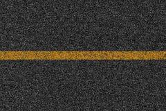 Textur för asfalthuvudvägväg med teckning Royaltyfri Bild