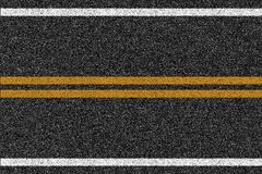 Textur för asfalthuvudvägväg med teckning Royaltyfria Foton