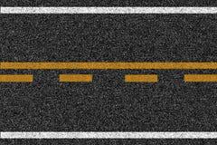 Textur för asfalthuvudvägväg med teckning Royaltyfri Foto