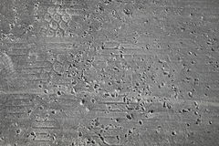 Textur för asfaltväg, trans.bakgrund Royaltyfri Bild