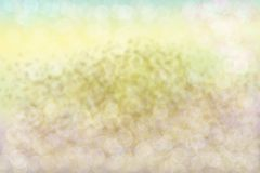 Textur för bakgrund för bokeh för abstrakt guldguling ljus Arkivbilder