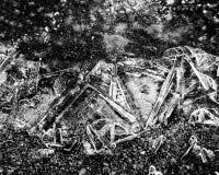 Textur för bakgrund för abstrakt begrepp för isvinterväder Royaltyfri Bild