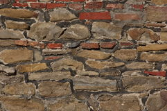 Textur för bakgrund för stenvägg - RÅTT format royaltyfri bild
