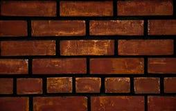 Textur för bakgrund för tegelstenvägg Royaltyfria Bilder