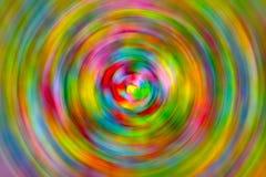 Textur för bakgrund för virvel för regnbågekonfettiabstrakt begrepp Arkivfoto