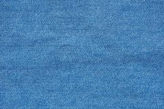 Textur för bakgrund för jeanstappning materiell Arkivfoton
