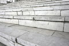 Textur för bakgrund för stege för grå färgtappningmarmor för att klättra begrepp arkitektur arkivfoton