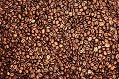 textur för bakgrundsbönakaffe Arkivfoton