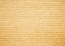 textur för beige papp för bakgrund korrugerad Royaltyfri Foto