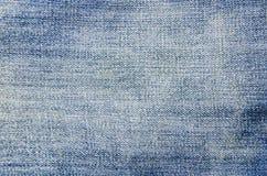 textur för blå jean Arkivbilder