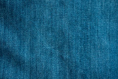 textur för blå jean Royaltyfri Foto
