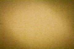 textur för brunt papper Arkivfoton