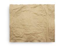 Textur för brunt papper Arkivbild