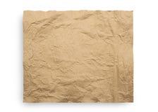 Textur för brunt papper Fotografering för Bildbyråer
