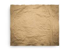 Textur för brunt papper Royaltyfri Fotografi