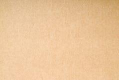 textur för brunt papper för bakgrund Royaltyfria Bilder