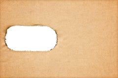 Textur för brunt papper för konstverk Royaltyfria Bilder