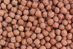 textur för chokladhavreflakes royaltyfria bilder