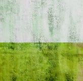 Textur för Colorfull vibrerande utomhus- gropig ny grön tappningvägg Royaltyfri Bild
