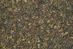 textur för grön tea Arkivfoton