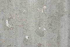 Textur för Gray Chipped Paint Concrete Wall Grungebakgrund Royaltyfria Foton