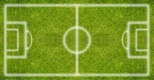 textur för green för gräs för bakgrundsfältfotboll royaltyfria bilder