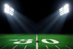 textur för green för gräs för bakgrundsfältfotboll Arkivfoto