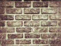 Textur för Grungetegelstenvägg för bakgrund Arkivfoto