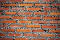 Textur för Grungetegelstenvägg för bakgrund Royaltyfri Foto