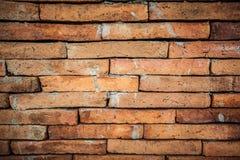 Textur för Grungetegelstenvägg för bakgrund Arkivbilder