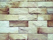 Textur för Grungetegelstenvägg för tapetbakgrund Fotografering för Bildbyråer